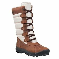 Synthetic Flat (0 to 1/2 in.) Lace Up Snow, Winter Boots Women's Shoes
