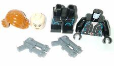 LEGO Marvel BLACK WIDOW Minifigure 76032 Avengers Age of Ultron Quinjet