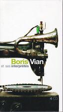 BORIS VIAN - ET SES INTERPRETES -  LONGBOX 4 CD
