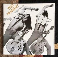 "TED NUGENT "" Free for All "" Vinyl 12"" LP Gatefold  Epic PE 34121 Rock"