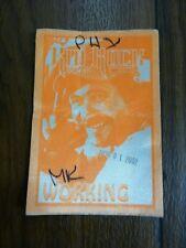 Kid Rock Working 2002 Tour Backstage Concert Pass Phoenix