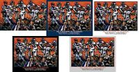 Denver Broncos Peyton Manning Super Bowl 50 Champions NFL Football Art CHOICES