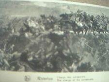 postcard unused waterloo souvenir card napoleon