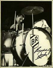 BUDDY RICH SIGNED PHOTO 8X10 RP AUTO AUTOGRAPHED LEGENDARY DRUMMER *