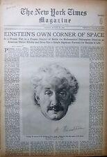 EINSTEIN MACDONALD RACKETEER WEREVEKE - WARREN CLOUDS  8-1929 August 18 NY Times