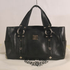 AUTHENTIC MCM  Leather Tote Bag + Dust Bag
