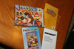 N64 Banjo-Tooie (Nintendo 64, 2000) box and manual only!!  no game!!