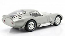 1965 Shelby Cobra Daytona Coupe Silver 1:18 Diecast By Shelby Collectibles Sc132