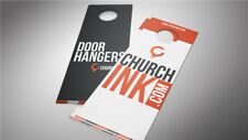 Business Sign Custom Print Advertising Promotional Door Hangers High Quality