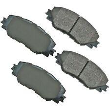 Disc Brake Pad Set-Base Front Akebono ACT1210