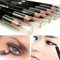 2Pcs black Smooth EyeLiner Eyeliner Pencil Pen Waterproof Beauty Makeup Cosmetic