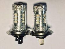 FITS Volkswagen Passat B5FL SET 2 x H7 CREE 16 LED HEADLIGHT BULBS FOG LIGHTS