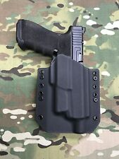 Black Kydex Holster for Glock 17/22/31 Threaded Barrel Surefire XC1