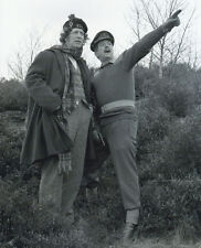 Tom Baker and Nick Courtney UNSIGNED photo - H11 - Doctor Who