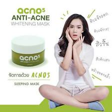 Acno5 100% natural extracts Whitening Mask Restore Deteriorated