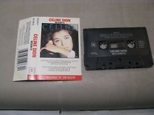Audio cassette CELINE DION Incognito  French PFCT-80119 1987