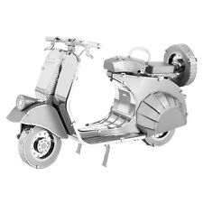 Fascinations Metal Earth 3D Laser Cut Model Kit Classic Vespa 125 Motor Scooter