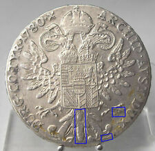 Maria Theresia Taler 1780, H63, London, Silber