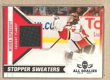 Mikka Kiprusoff  2010-11 Panini All Goalies Stopper Sweaters