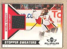 Mikka Kiprusoff  2010-11 Panini All Goalies Stopper Sweaters
