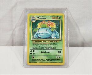 1999 Pokemon Base Set Unlimited TCG Venusaur 15/102 Holo Rare Trading Card NM