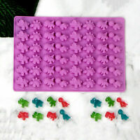 Maker Chocolate Ice 48 Jelly Gummy Silicone Bear Mould gr Mold Tray Candy Cavity