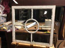 c1890 vintage unique fenestration window sash frame victorian age 34�w x 31.5� h