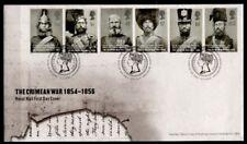 150. Jahrestag des Beginns des Krimkrieges. FDC+Beschreibung.Großbritannien 2004