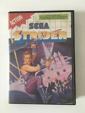 Sega Master System * STRIDER * PAL mit OVP boxed