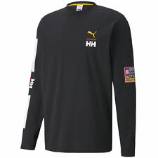 Puma TFS x Helly Hansen Crew Neck Tee Black Mens Tops 597148 01