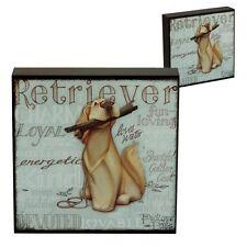 My Pedigree Pals 8207 Dog Picture Wall Art Golden Retriever