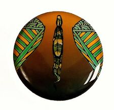 """Indigegrip - """"MONITOR""""authentic indigenous Aboriginal art on a Golf Putting Grip"""