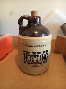 RARE The Notting Hillbillies Promotional Mini Moonshine Clay JUG Vintage 1990