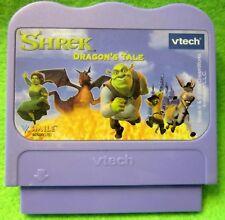 Vtech Vsmile Shrek Dragon's Tail Cartridge Only 52-092600