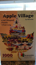 4SEASONS COLLECTOR'S SERIES 1ST EDITION LEAF APPLE VILLAGE Puzzlee Heonim SIGNED