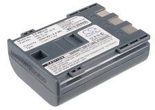 7.4 V batteria per CANON Elura 65, zr-400, HG10, MVX45i, MV880xi, MVX20i, MV830i,