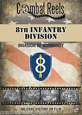 8th Infantry Division: Normandy Invasion Combat Camera Film Footage Research DVD