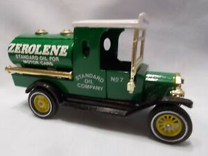 MATCHBOX MODELS OF YESTERYEAR Y3-4 1912 FORD MODEL T TANKER ZEROLENE ISSUE 4A*