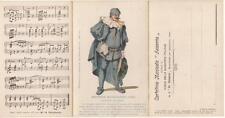 C2246) BOLOGNA, MASCHERA DOTTOR BALOARDO (BALANZONE), CARTOLINA MUSICALE AUSONIA
