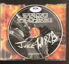 Juice Wrld Signed Autographed Deathrace For Love Cd Super Rare Psa/Dna