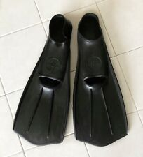 Vintage 60's Rare HYDRA Scuba Diving Fins Flippers Rubber Closed Heel 41-42 7-9