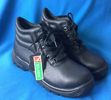 CLICK Moulded Boots Size EU 42 UK 8 Black Safety Working Boots Walking Hiking