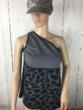 LULULEMON Stripe Animal Print Size (See Pics) One Shoulder Athletic Tank Top