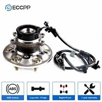 (1) Front Wheel Bearing & Hub for 2004 - 2007 2008 Chevy Colorado GMC Canyon 2WD