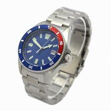 Professional Automatik reloj Náutico 20 ATM ep3855 caballeros diver 200m pepsi azul
