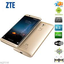 """ZTE AXON 7 5.2"""" 4G LTE Smartphone 32GB Android 6.0 Móvil 2*SIM 16MP Teléfono Oro"""