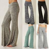 Women Yoga Skinny High Waist Pants Sports Fitness Sports Trousers Pants Flares