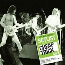 Setlist: The Very Best of Cheap Trick Live by Cheap Trick (CD, May-2013, Sony...