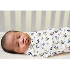 New Baby SwaddleMe Wrap Swaddle Blanket Small Monkey Band
