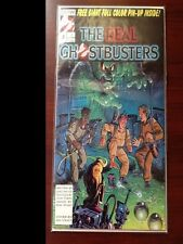 Comic book THE REAL GHOSTBUSTERS (Written by James Van Hise) near mint cond.